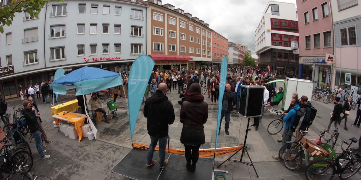 Kick-Off Bündnis Verkehrswende jetzt - Foto: Oliver Zientarski