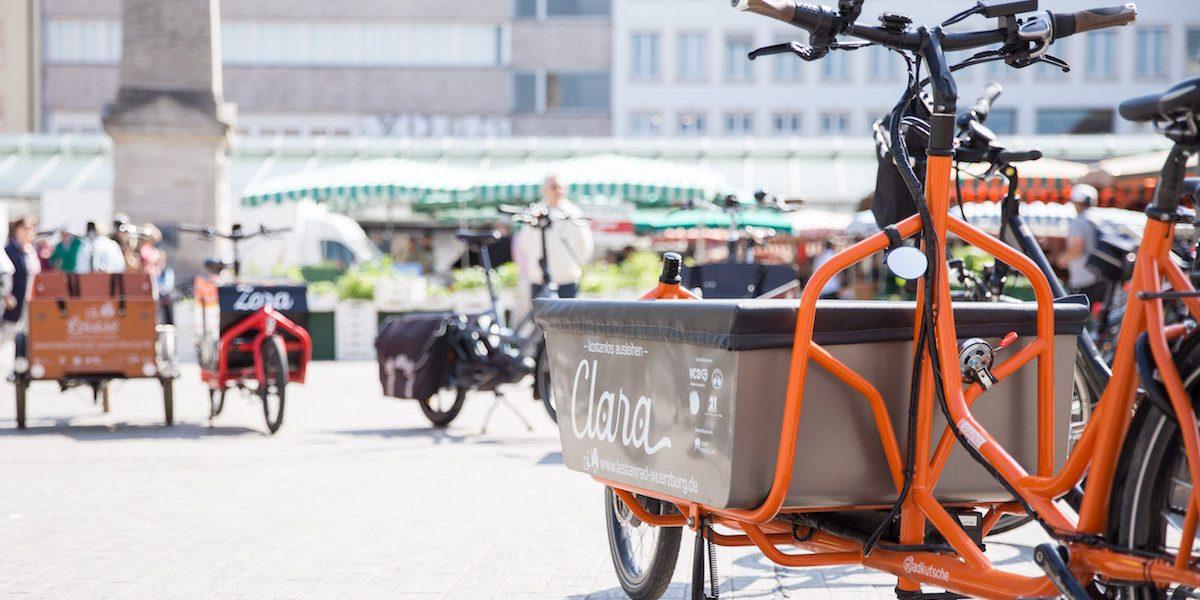 Lastenradförderung Stadt Würzburg - Bündnis Verkehrswende jetzt - Foto: Kathrin Königl