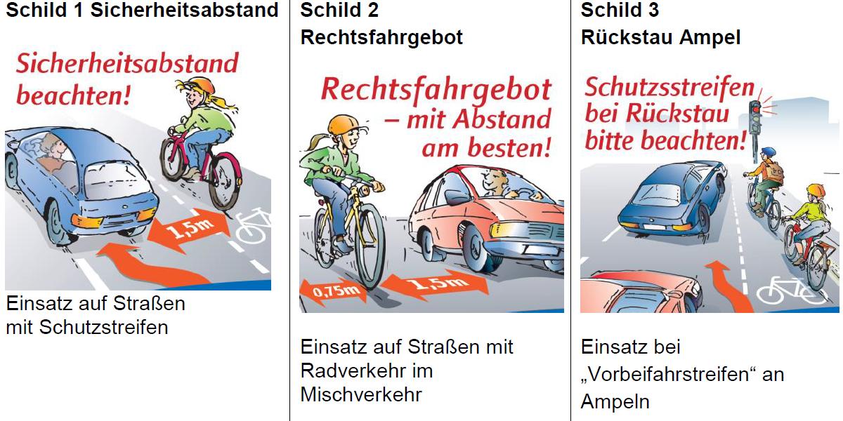 Schilder-Verkehrsinformation (privat)