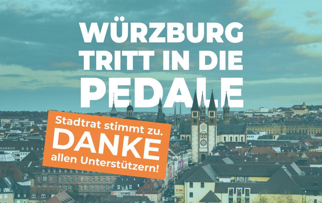 Radentscheid Würzburg Danke
