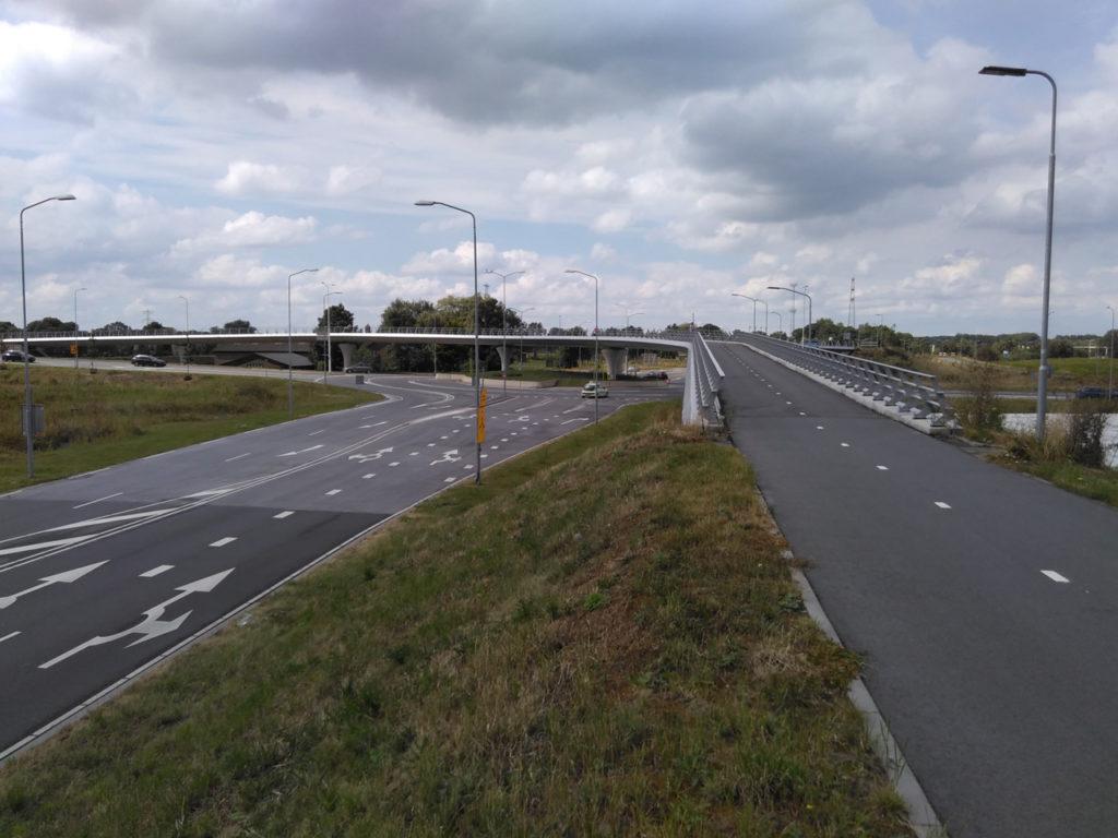 Radweg-Viadukt
