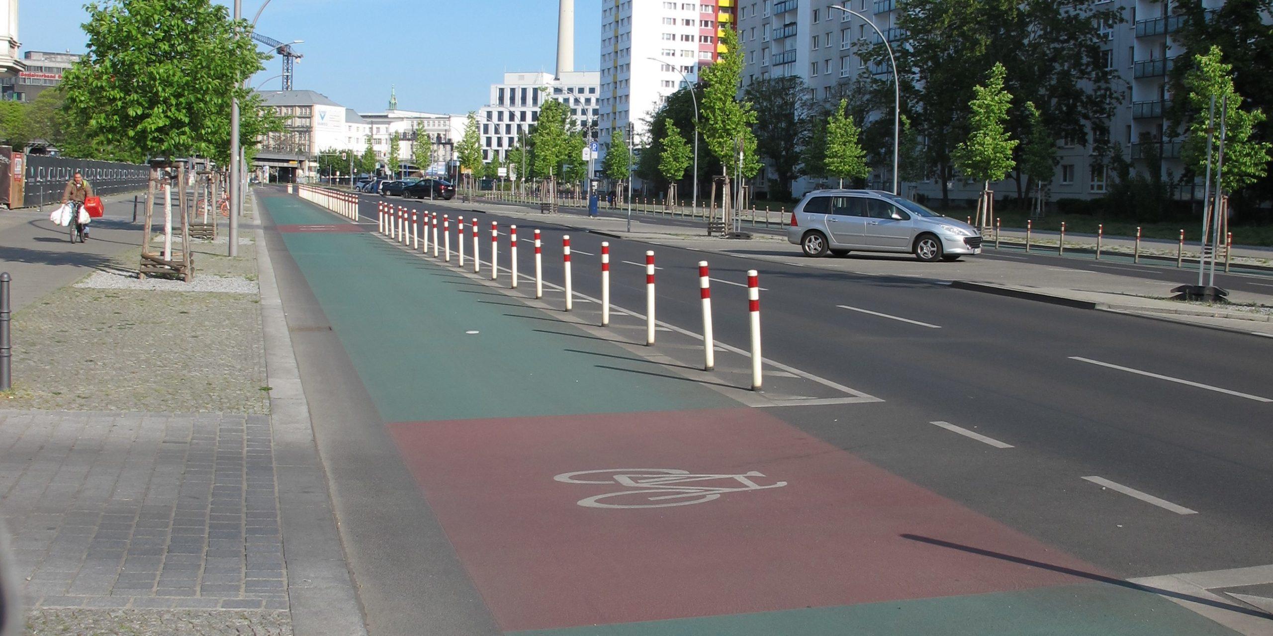 PopUp Bike Lane (Fotograf: Marco Melloni)