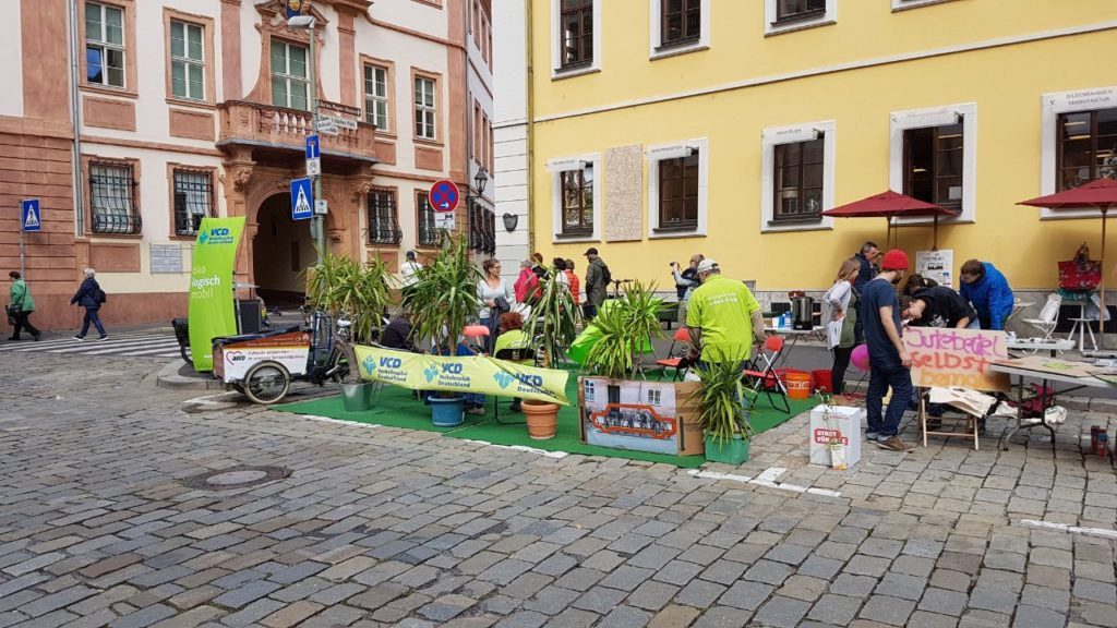 Parking Day 2017 des VCD  (Foto: vcd Mainfranken Rhön e.V.)